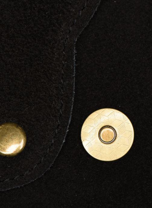 Sacs à main Georgia Rose Mifesta Leather Noir vue gauche