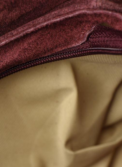 Sacs à main Georgia Rose Mifesta Leather Bordeaux vue derrière