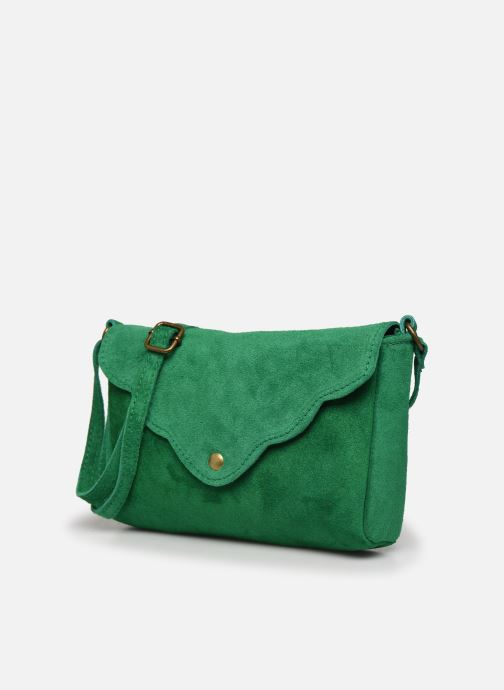 Bolsos de mano Georgia Rose Mifesta Leather Verde vista del modelo