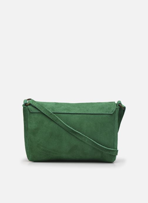 Bolsos de mano Georgia Rose Mifesta Leather Verde vista de frente