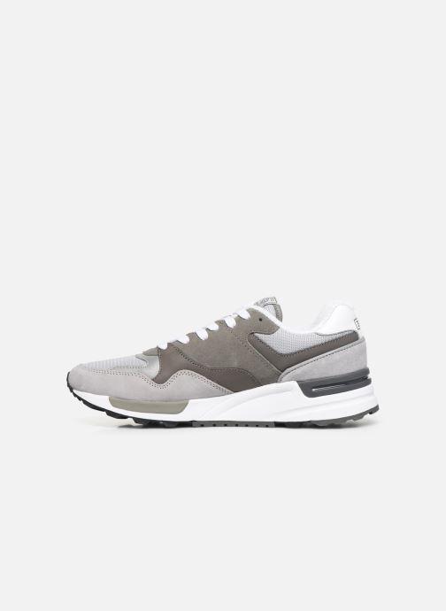 Sneakers Polo Ralph Lauren Trackstr 100- Suede/ Mesh Grigio immagine frontale