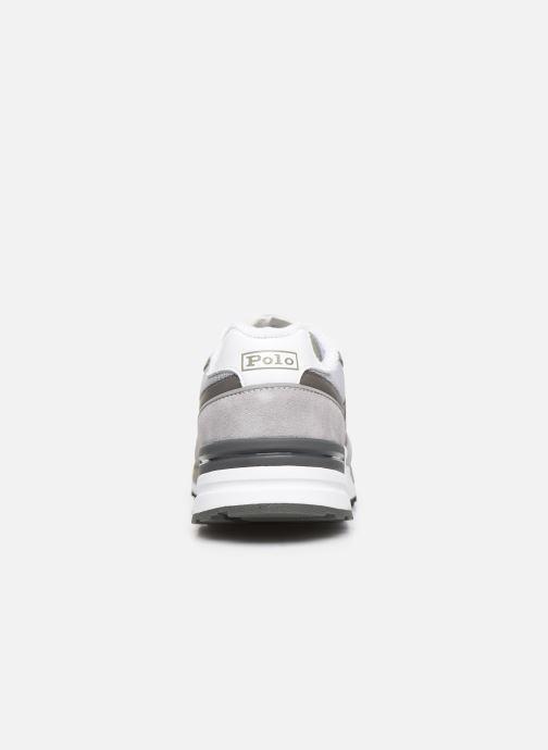 Sneakers Polo Ralph Lauren Trackstr 100- Suede/ Mesh Grigio immagine destra