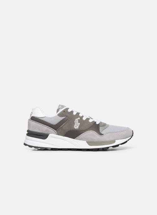 Sneakers Polo Ralph Lauren Trackstr 100- Suede/ Mesh Grigio immagine posteriore