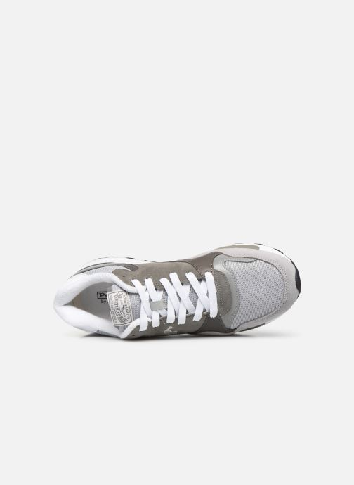 Sneakers Polo Ralph Lauren Trackstr 100- Suede/ Mesh Grigio immagine sinistra