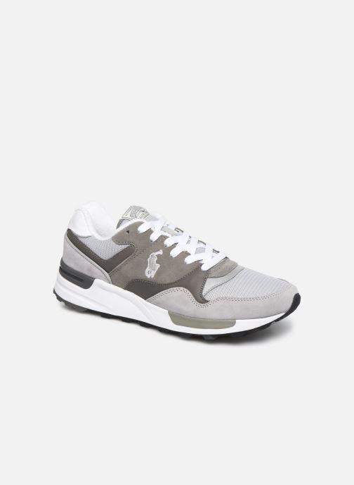 Sneakers Polo Ralph Lauren Trackstr 100- Suede/ Mesh Grigio vedi dettaglio/paio