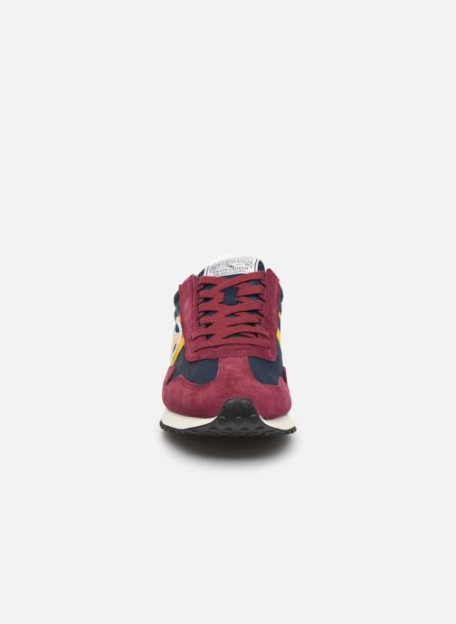 Trainers Polo Ralph Lauren Train 90/ Suede Red model view