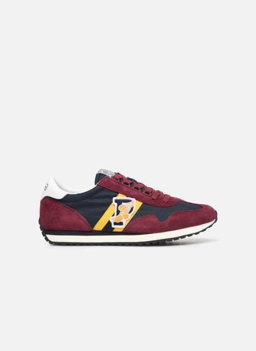 Trainers Polo Ralph Lauren Train 90/ Suede Red back view