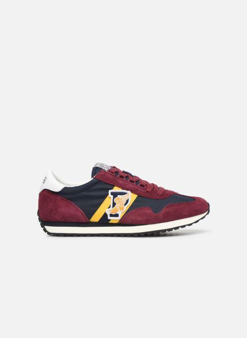Sneaker Polo Ralph Lauren Train 90/ Suede rot ansicht von hinten