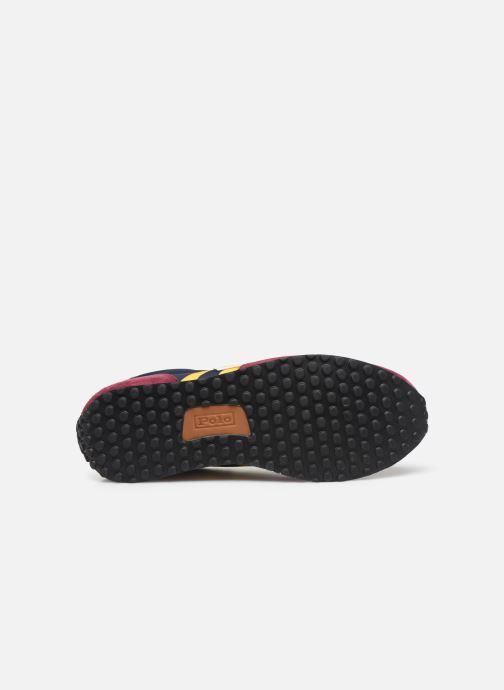 Sneaker Polo Ralph Lauren Train 90/ Suede rot ansicht von oben