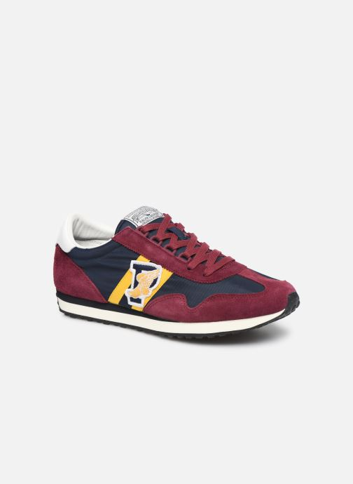 Trainers Polo Ralph Lauren Train 90/ Suede Red detailed view/ Pair view