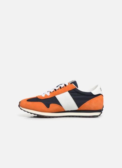 Baskets Polo Ralph Lauren Train 90-PP/ Suede Orange vue face