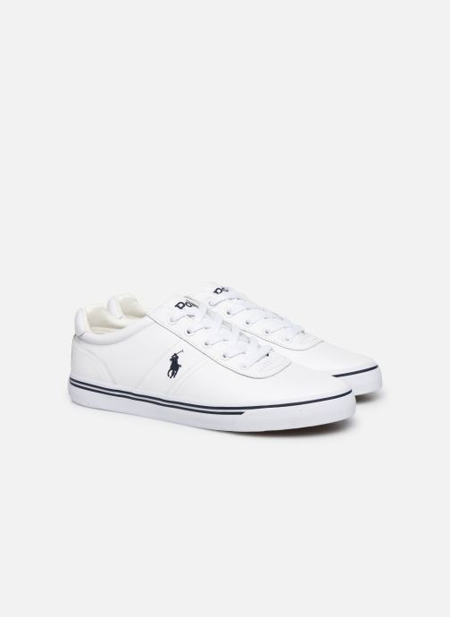 Sneakers Polo Ralph Lauren Hanford - Leather Bianco immagine 3/4
