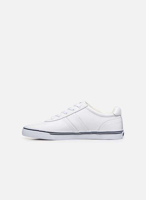 Sneakers Polo Ralph Lauren Hanford - Leather Bianco immagine frontale
