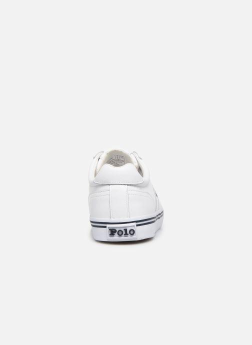 Deportivas Polo Ralph Lauren Hanford - Leather Blanco vista lateral derecha