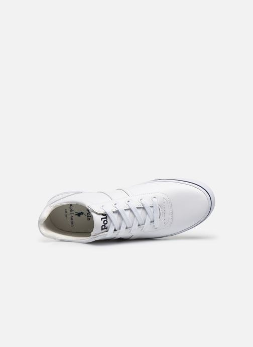 Sneakers Polo Ralph Lauren Hanford - Leather Bianco immagine sinistra