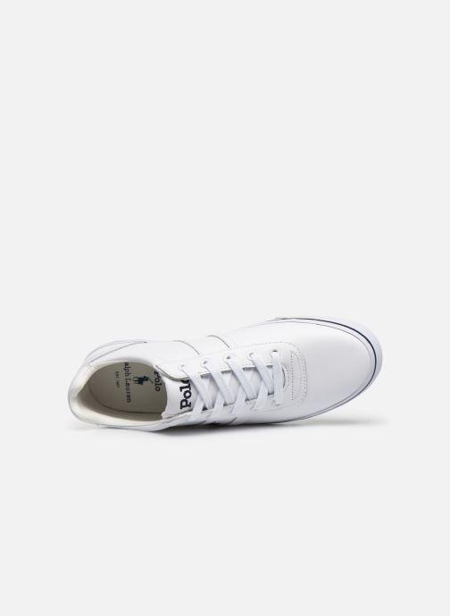 Baskets Polo Ralph Lauren Hanford - Leather Blanc vue gauche