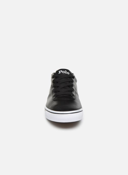 Baskets Polo Ralph Lauren Hanford - Leather Noir vue portées chaussures