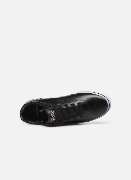 Baskets Polo Ralph Lauren Hanford - Leather Noir vue gauche
