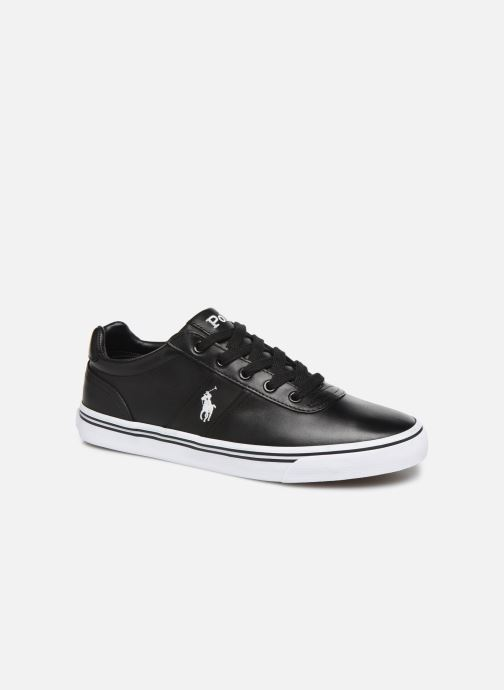 Trainers Polo Ralph Lauren Hanford - Leather Black detailed view/ Pair view