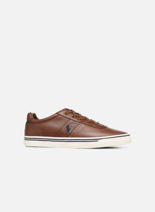 Baskets Polo Ralph Lauren Hanford - Leather Marron vue derrière