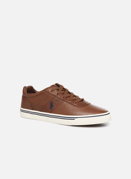 Sneakers Polo Ralph Lauren Hanford - Leather Brun detaljeret billede af skoene