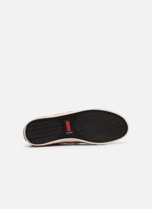 Baskets Polo Ralph Lauren Hanford - Leather Gris vue haut