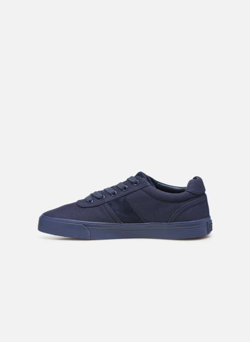 Baskets Polo Ralph Lauren Hanford- monochromatic Canvas Bleu vue face