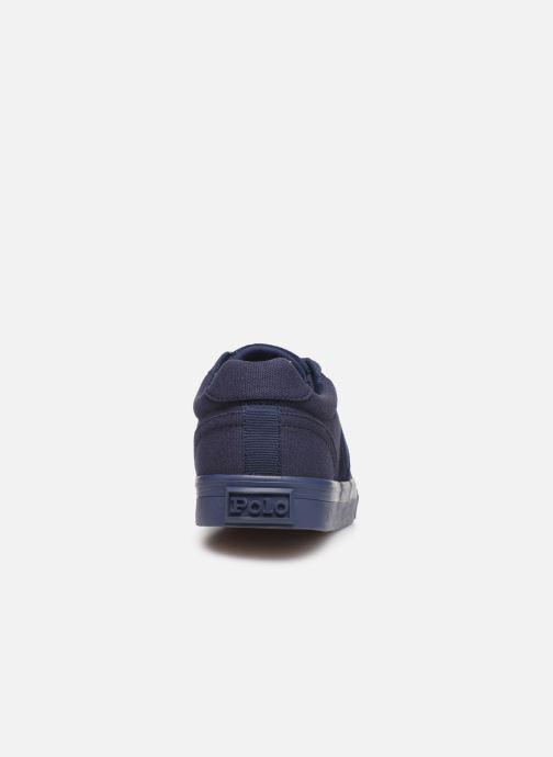 Sneakers Polo Ralph Lauren Hanford- monochromatic Canvas Blauw rechts