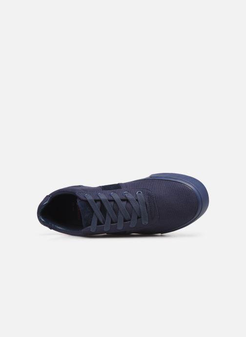 Baskets Polo Ralph Lauren Hanford- monochromatic Canvas Bleu vue gauche