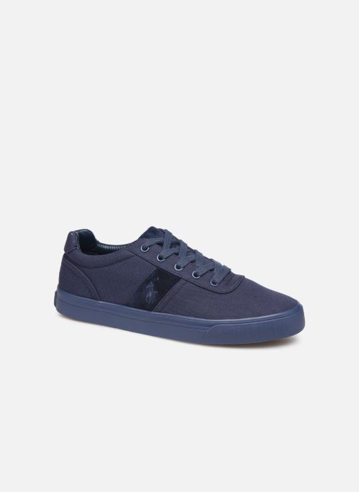 Trainers Polo Ralph Lauren Hanford- monochromatic Canvas Blue detailed view/ Pair view
