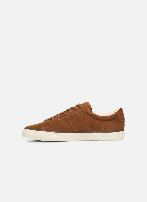 Trainers Polo Ralph Lauren Sayer- Suede Brown front view