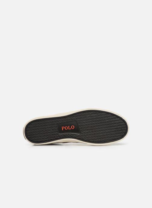 Baskets Polo Ralph Lauren Sayer- Suede Marron vue haut