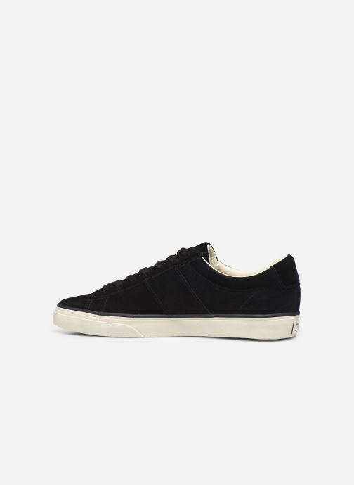 Trainers Polo Ralph Lauren Sayer- Suede Black front view