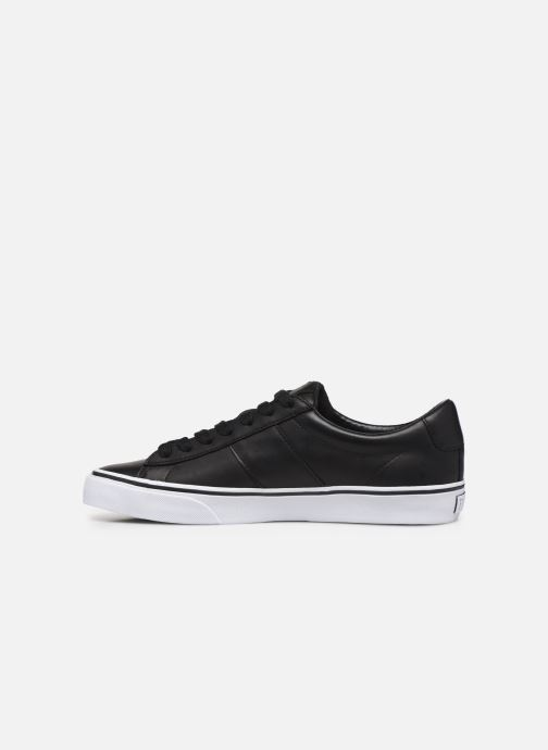 Sneakers Polo Ralph Lauren Sayer- Leather Zwart voorkant