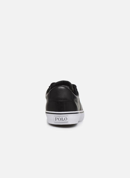 Baskets Polo Ralph Lauren Sayer- Leather Noir vue droite