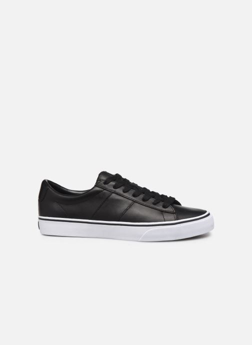 Sneakers Polo Ralph Lauren Sayer- Leather Zwart achterkant