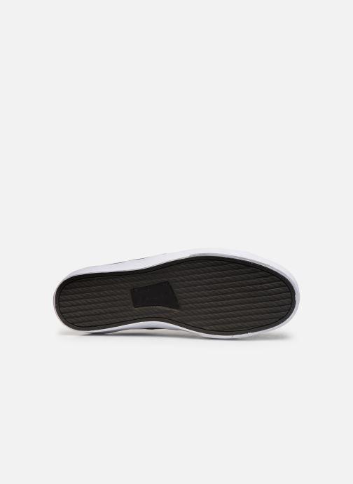 Baskets Polo Ralph Lauren Sayer- Leather Noir vue haut