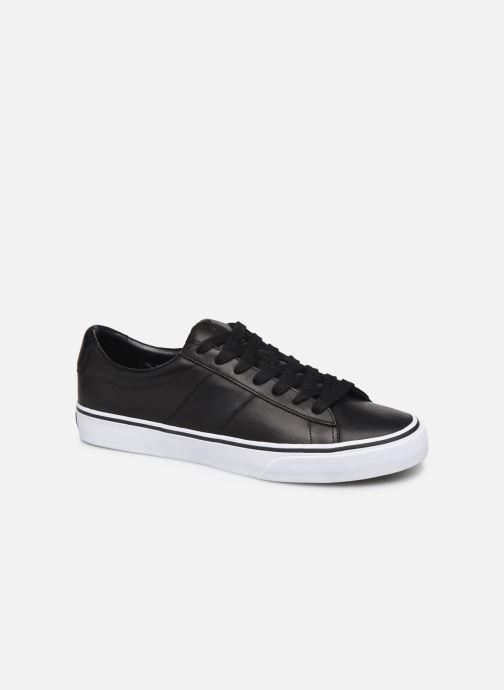 Sneakers Polo Ralph Lauren Sayer- Leather Zwart detail