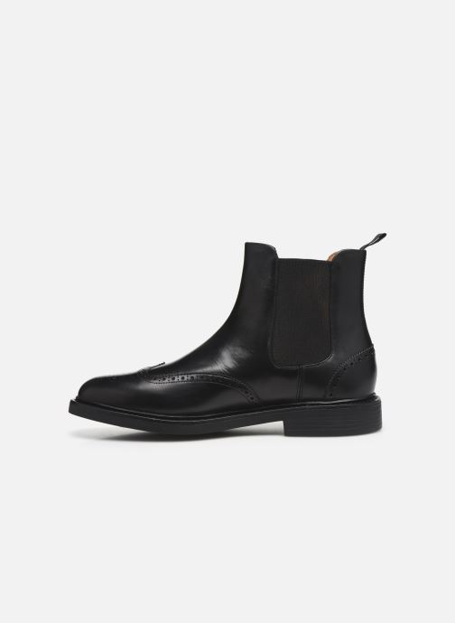 Bottines et boots Polo Ralph Lauren Asher Chlsea -Calf Leather Noir vue face