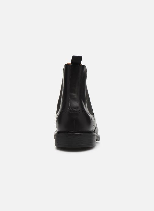 Botines  Polo Ralph Lauren Asher Chlsea -Calf Leather Negro vista lateral derecha