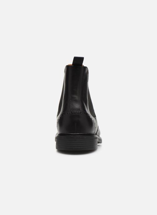 Bottines et boots Polo Ralph Lauren Asher Chlsea -Calf Leather Noir vue droite