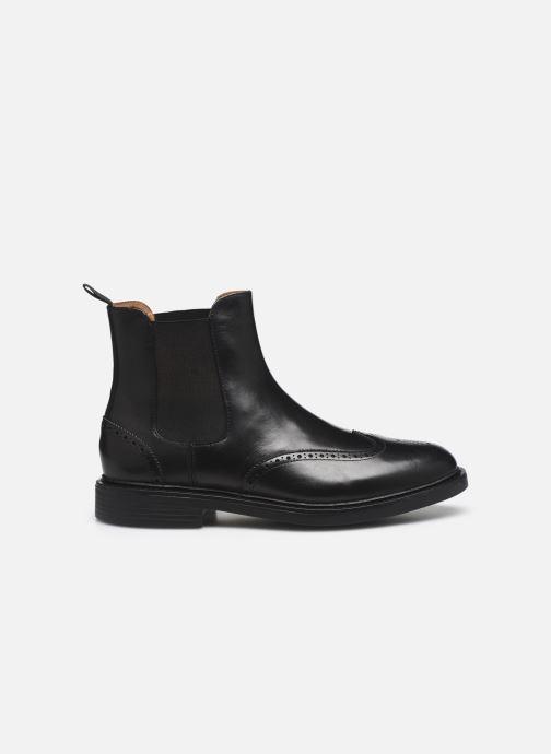 Botines  Polo Ralph Lauren Asher Chlsea -Calf Leather Negro vistra trasera