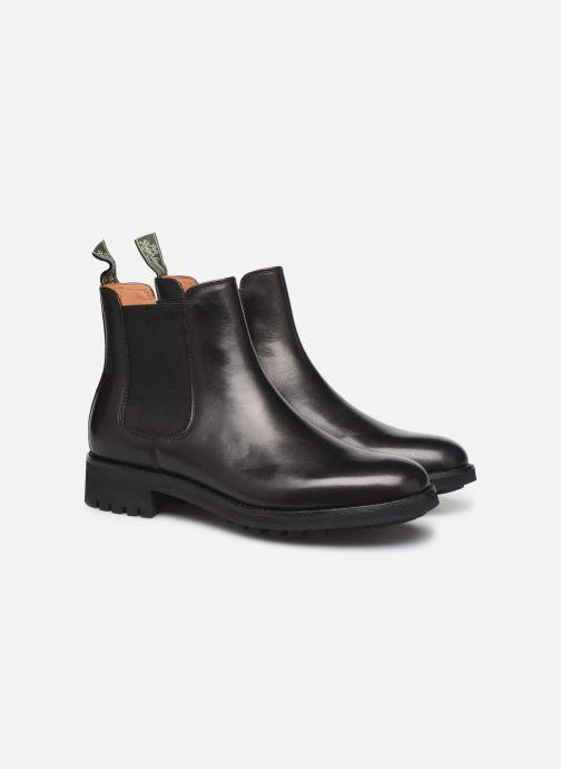 Bottines et boots Polo Ralph Lauren Bryson Chls - Dress Calf Noir vue 3/4