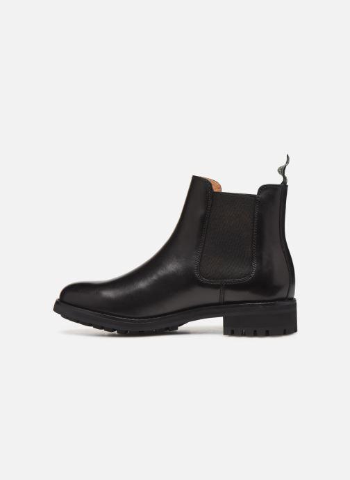 Bottines et boots Polo Ralph Lauren Bryson Chls - Dress Calf Noir vue face