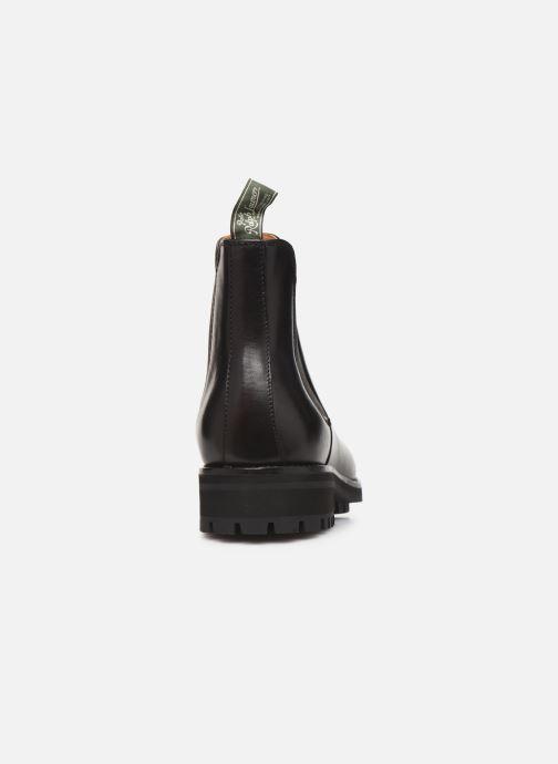 Bottines et boots Polo Ralph Lauren Bryson Chls - Dress Calf Noir vue droite