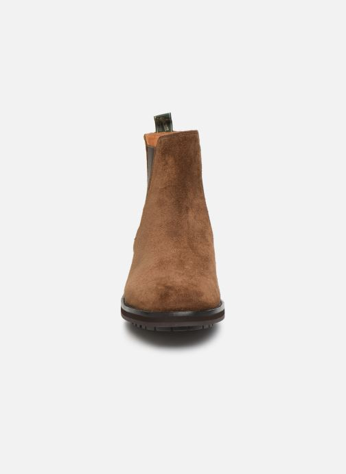Bottines et boots Polo Ralph Lauren Bryson Chls - Suede Marron vue portées chaussures