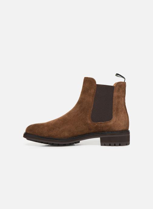 Bottines et boots Polo Ralph Lauren Bryson Chls - Suede Marron vue face