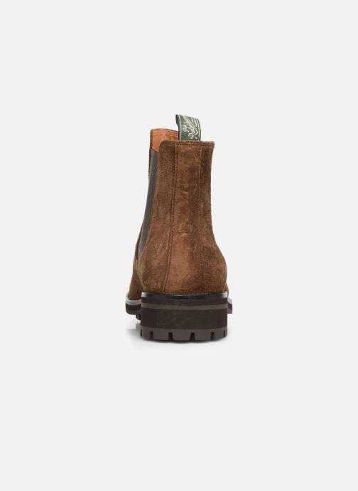 Bottines et boots Polo Ralph Lauren Bryson Chls - Suede Marron vue droite