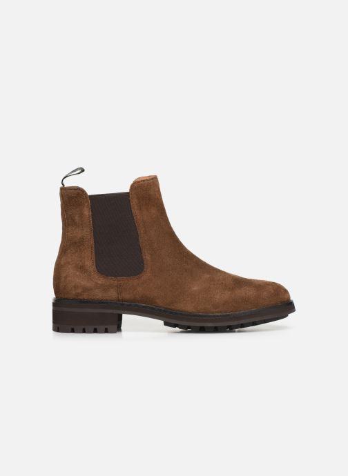 Bottines et boots Polo Ralph Lauren Bryson Chls - Suede Marron vue derrière