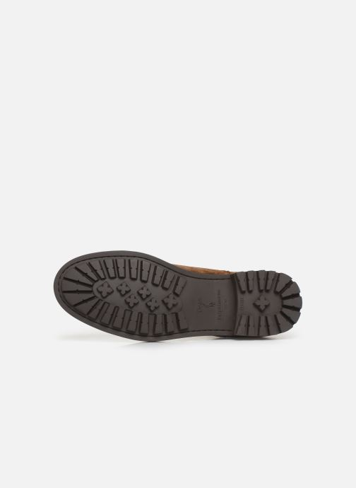 Bottines et boots Polo Ralph Lauren Bryson Chls - Suede Marron vue haut
